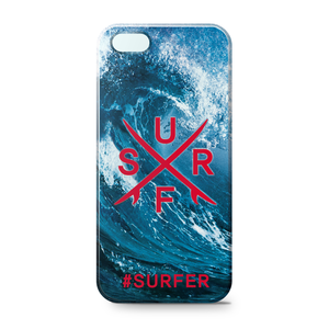 IPhone 5/5s Case [#SURFER-Blue]
